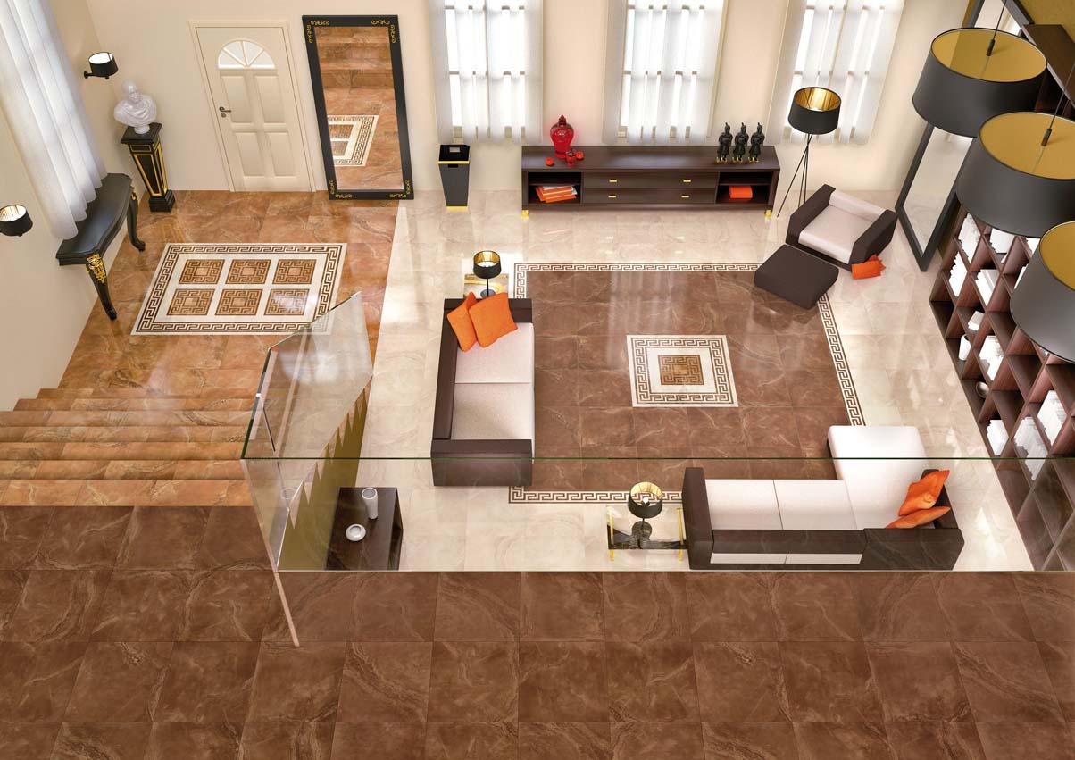 Design tile floor