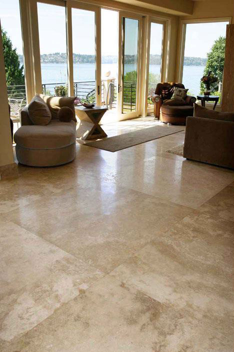 Vendor: 66, Travertine: Classic Light XHF 48x48
