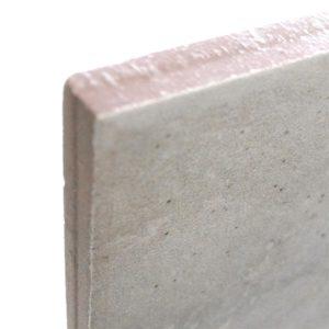 A non-rectified tile edge.