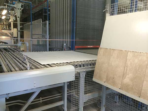 Porcelain Tile Manufacturing  Step  Ready For Kiln