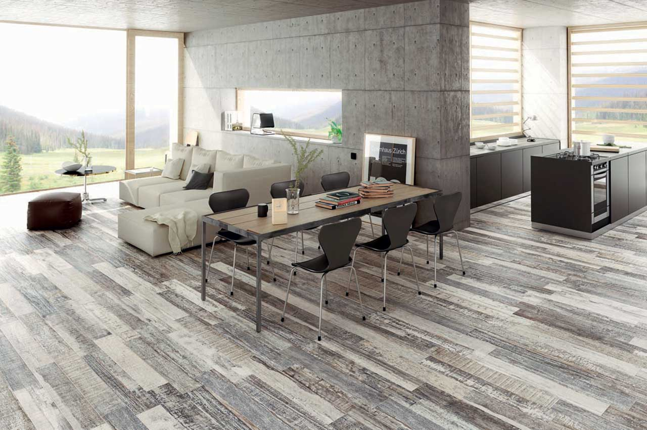 Wood Tile Look Porcelain