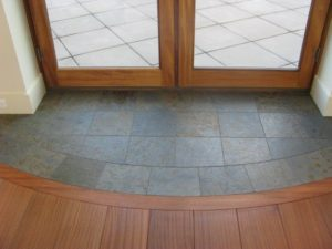 Tile Transitions San Diego Marble  Tile - Hardwood floor transition