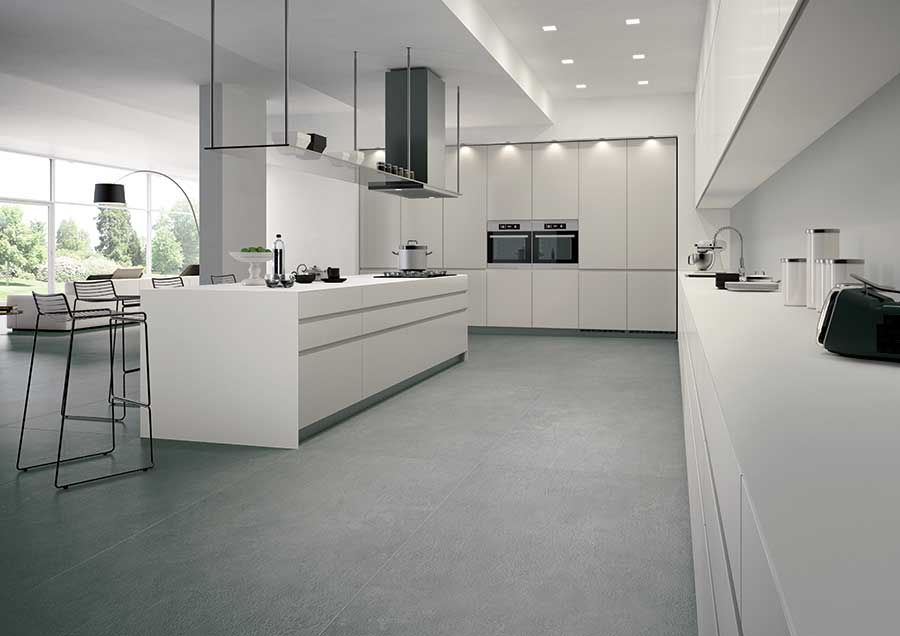 Contemporary industrial porcelain tile for Carrelage 90x90 gris