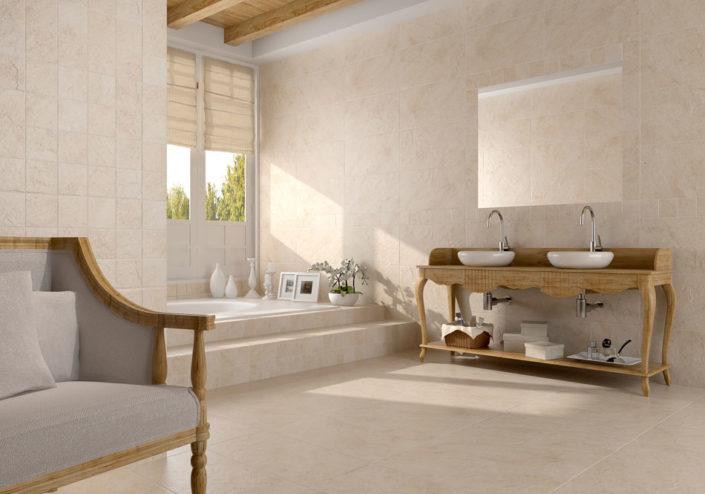 San Diego Marble Tile Beige Porcelain Tile