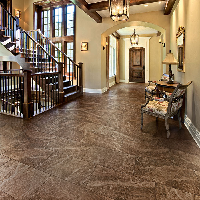 Unique Natural Stone Replica Porcelain Tile