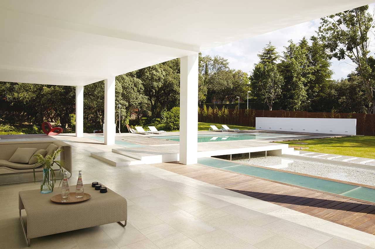 Outdoor Tiles Create Additional Living Space Outside