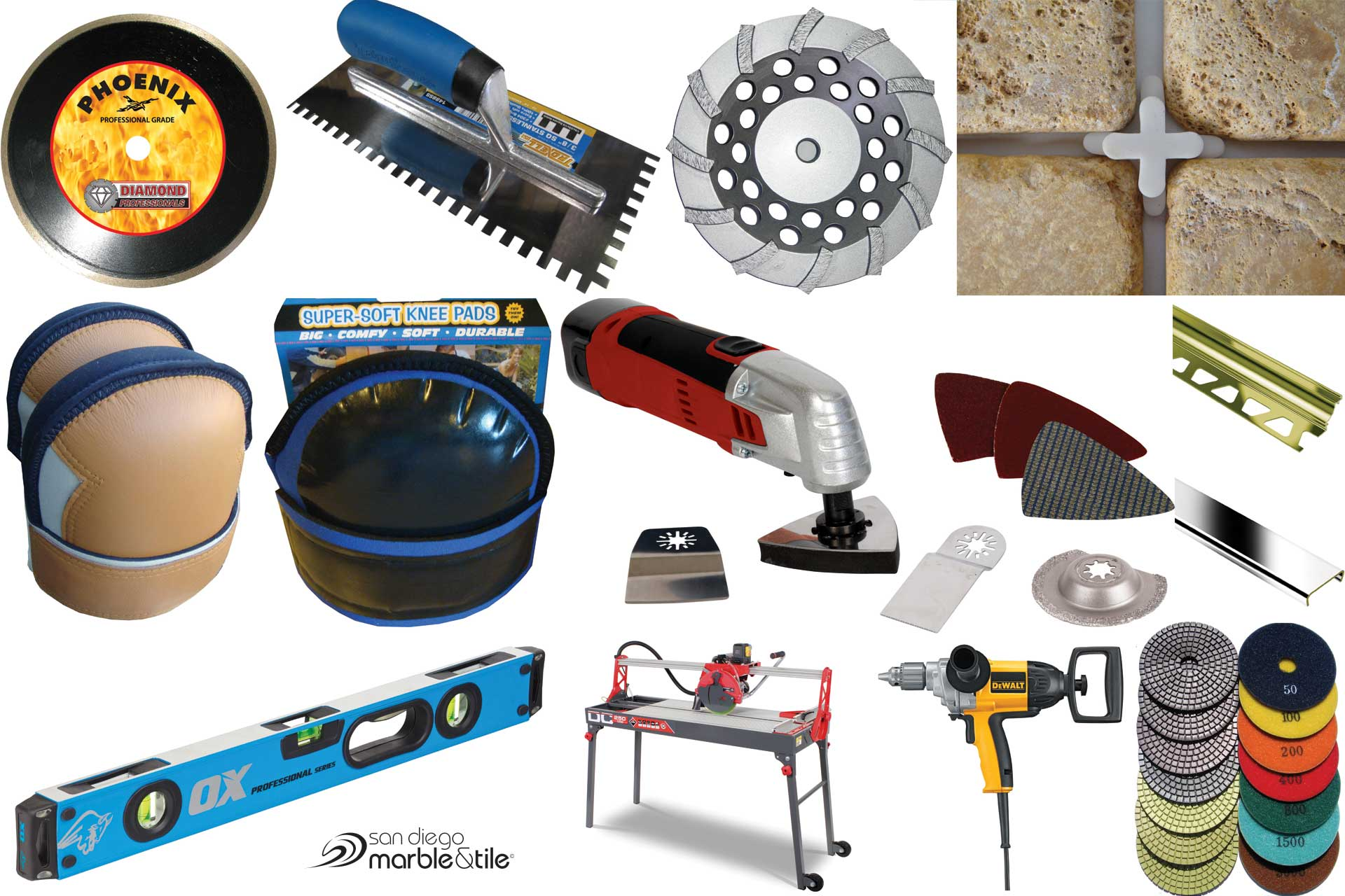 tools & supplies - San Diego Marble & Tile