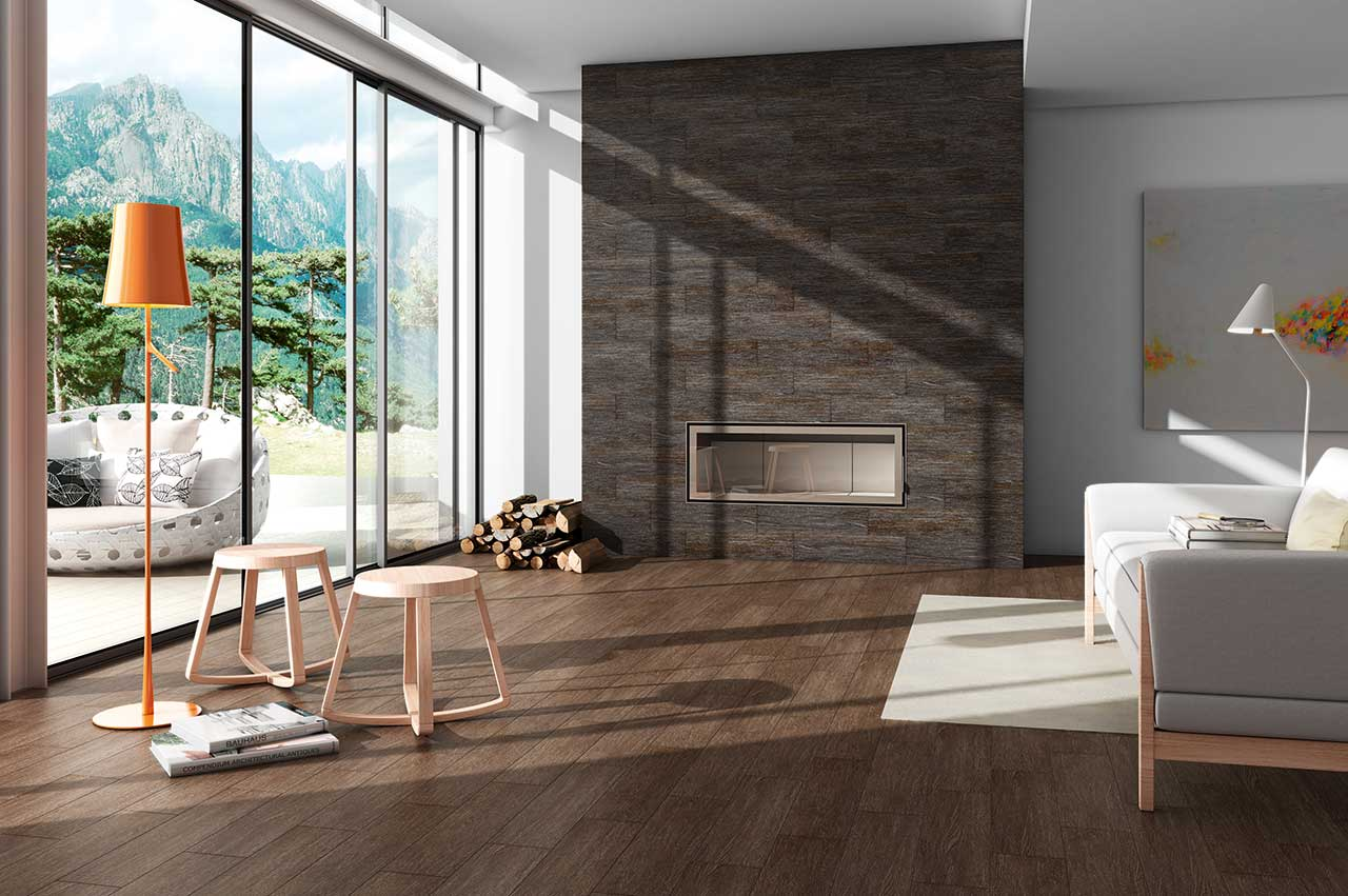 wood tile - wood look porcelain tile
