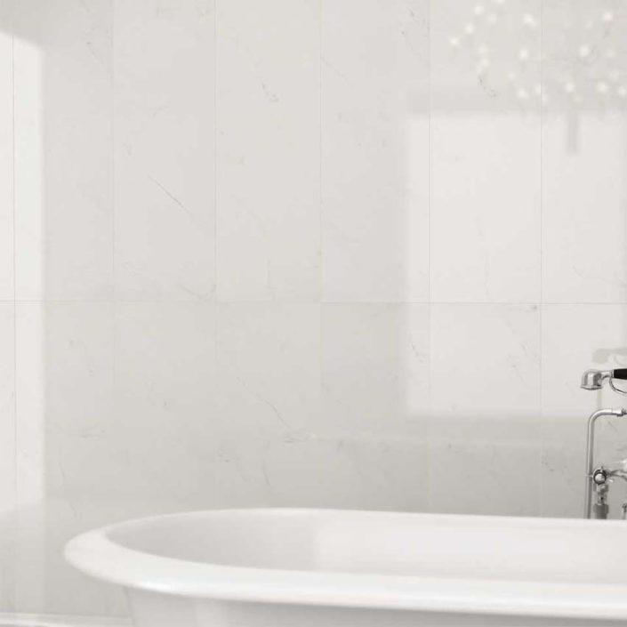 SAN DIEGO MARBLE TILE BATHROOM MARBLE Carrara