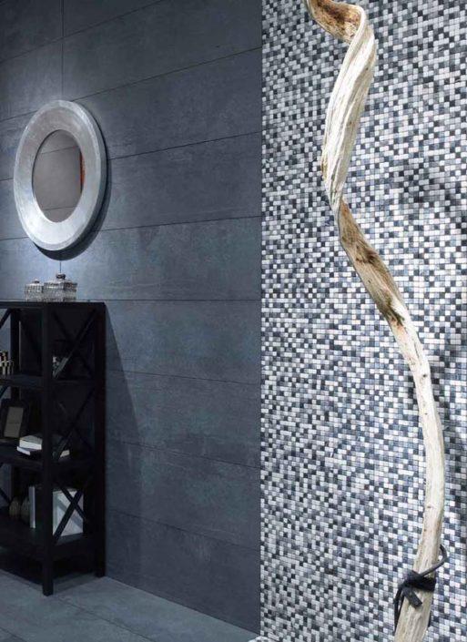 SAN DIEGO MARBLE TILE BATHROOM Rock Art MOSAIC