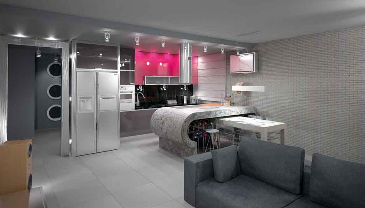SAN DIEGO MARBLE TILE LIVING INDUSTRIAL MODERN Manhattan