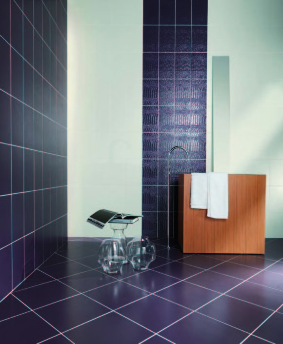 SAN DIEGO MARBLE TILE LIVING ritmo skin rosso