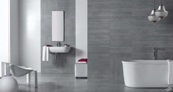 SAN DIEGO MARBLE TILE BATHROOM INDUSTRIAL LOOK TILE BATHROOM TIMBER