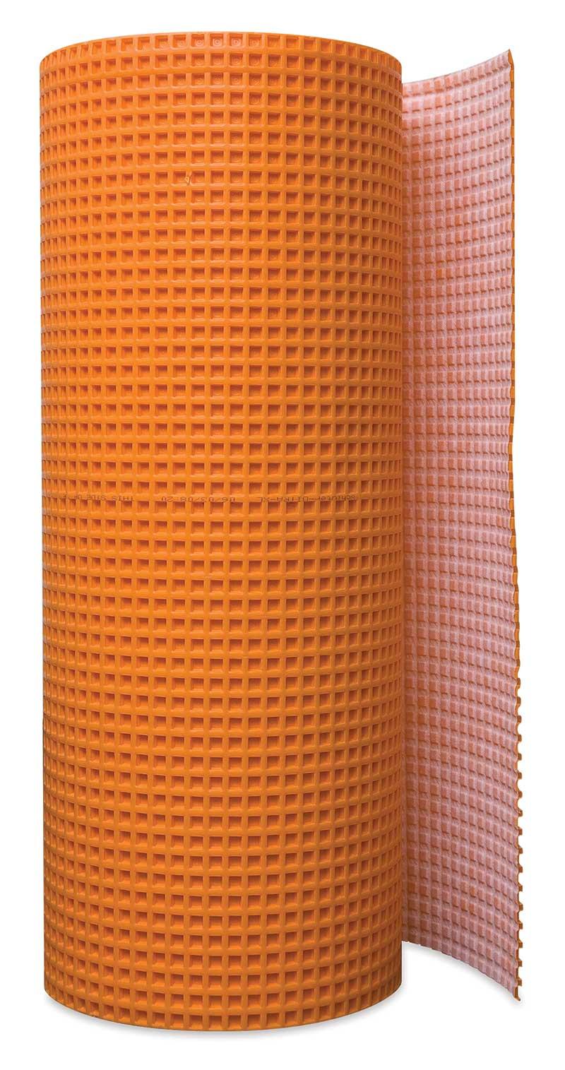 Ditra Waterproof Membrane : ″ uncoupling and waterproofing membrane sq ft