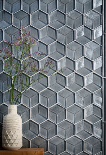 Glass tile texture depth endless possibilities for Glass tile texture