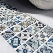Vendor: 40 Design: Bristol Deco Dots Stone: Cararra Marble