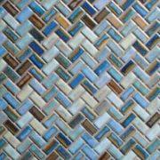 Vendor: 5 &#13: Design: Serenity Herringbone - Glazed Porcelain &#13: Item: SR4-HB