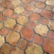 Example of unglazed saltillo tile