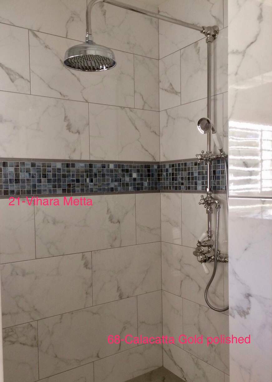 San Diego Marble Tile Actual Installation Picture 43