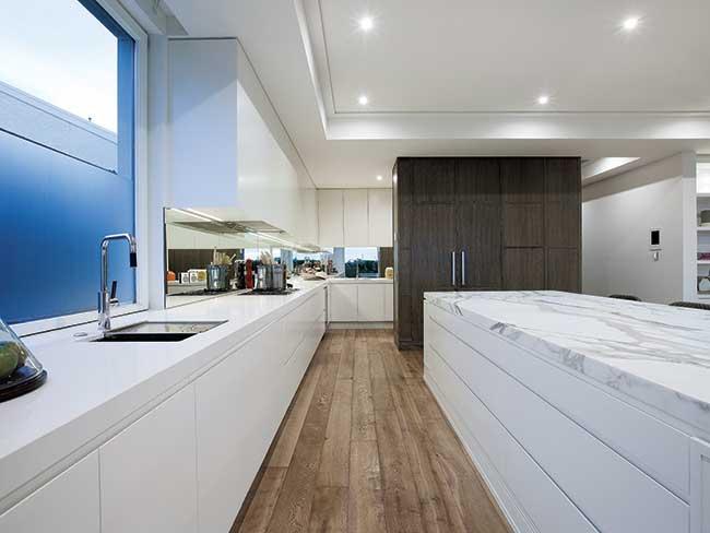 waterproof luxury vinyl plank flooring from San Diego Marble & Tile