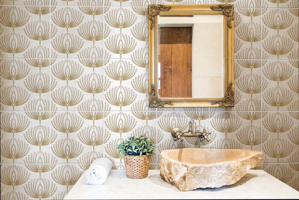 40_Dandelions Gold Bathroom 2