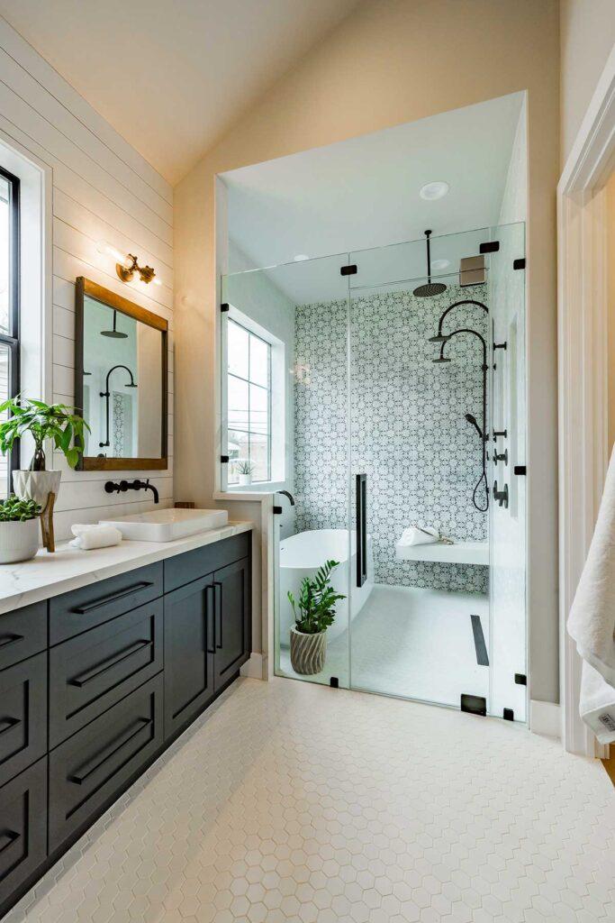 40_Oasis Black AST Bathroom install