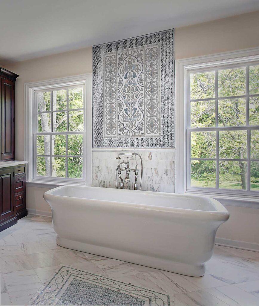 40_Prim Solo Bathroom Mural Install Carrara